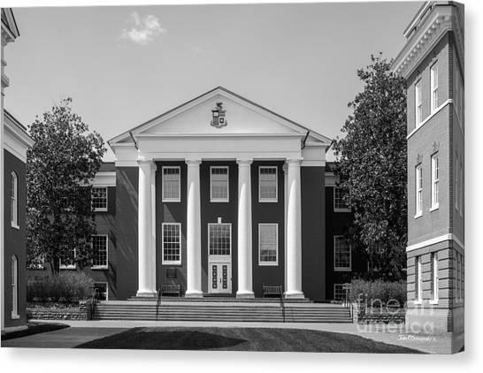 University Of Virginia Canvas Print - Washington And Lee University Huntley Hall by University Icons
