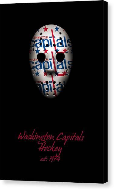 Washington Capitals Canvas Print - Washington Capitals Established by Joe Hamilton