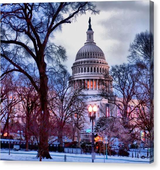 Washington D.c. One Canvas Print