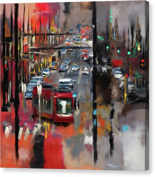 D.c. United Canvas Print - Washington I 471 1 by Mawra Tahreem