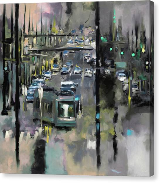 D.c. United Canvas Print - Washington I 471 4 by Mawra Tahreem