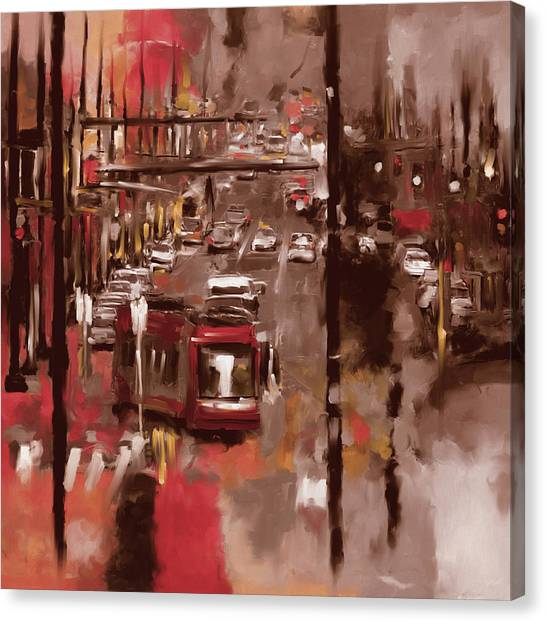 D.c. United Canvas Print - Washington I 471 II by Mawra Tahreem