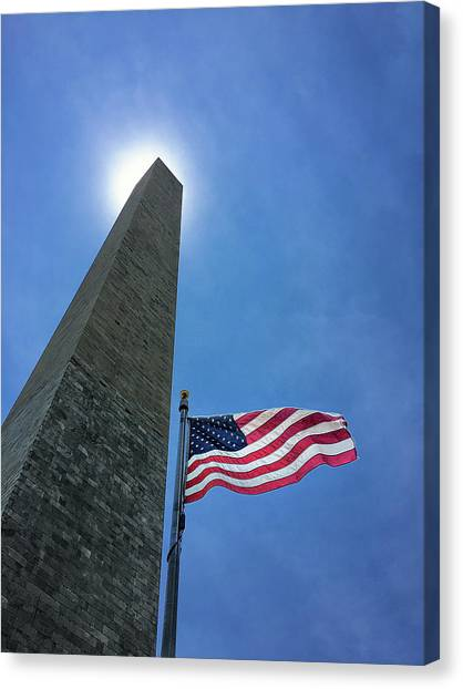 Washington Monument Canvas Print - Washington Monument by Andrew Soundarajan