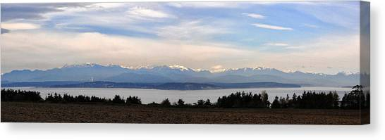 Washington Panorama Canvas Print