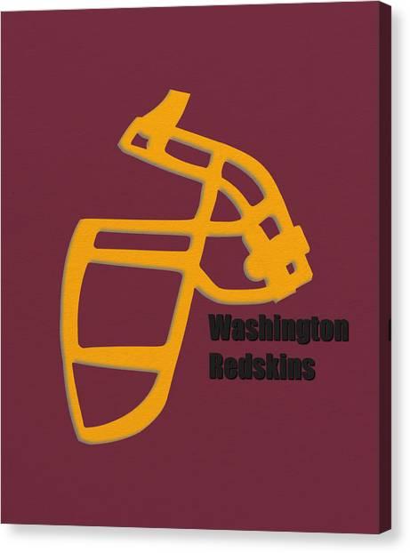 Washington Redskins Canvas Print - Washington Redskins Retro by Joe Hamilton
