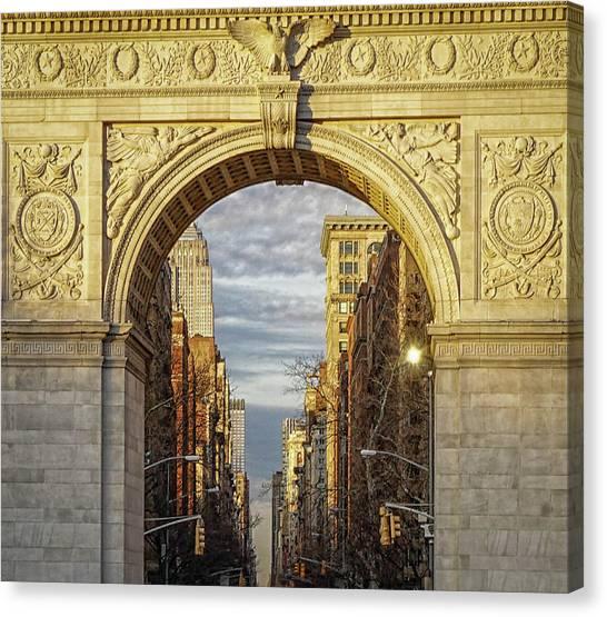 Washington Square Golden Arch Canvas Print