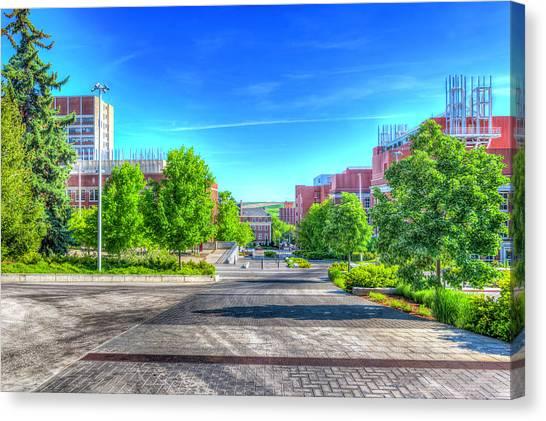 Washington State University Canvas Print - Washington State University by Spencer McDonald