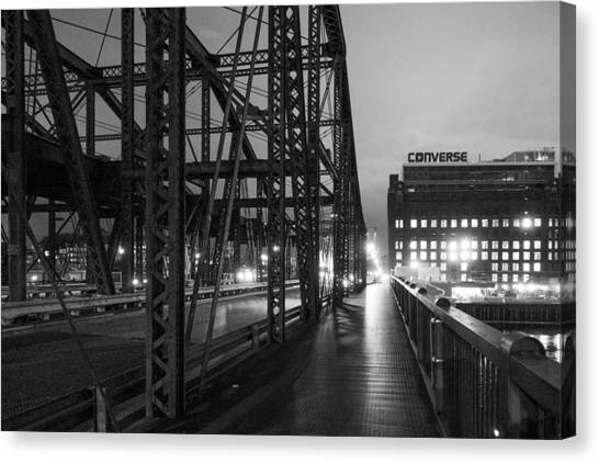 Washington Street Bridge Canvas Print