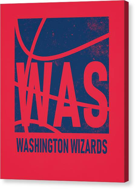 Washington Wizards Canvas Print - Washington Wizards City Poster Art by Joe Hamilton