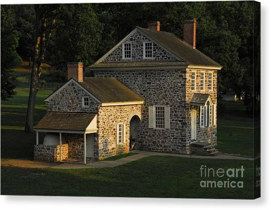 Washington's Headquarters At Valley Forge Canvas Print