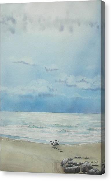 Washout Lull Canvas Print by Lane Owen