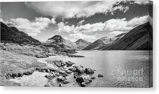 Wastwater And Wasdale Canvas Print by Colin and Linda McKie