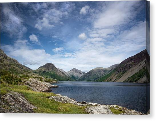 Wastwater Morning Canvas Print
