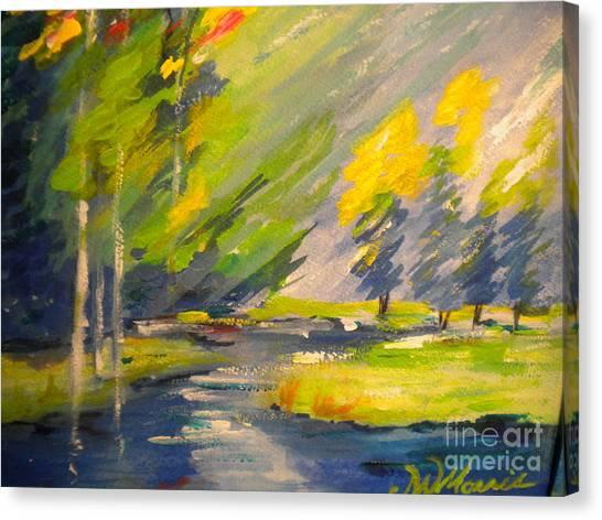 Watauga River View Canvas Print