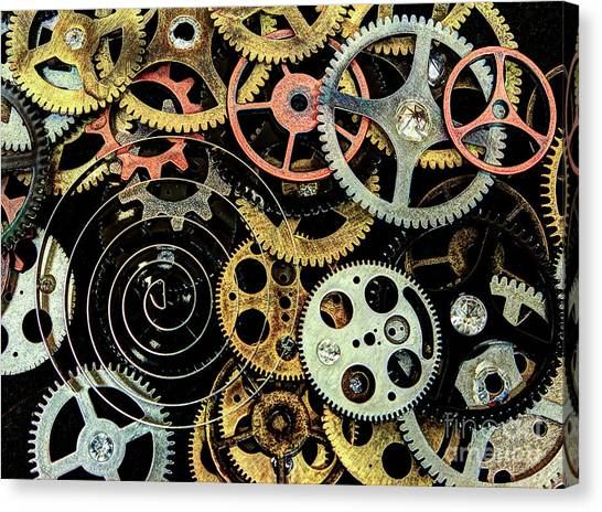 Watch Gears #1 Canvas Print