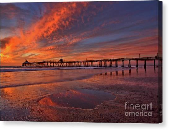 Watch More Sunsets Than Netflix Canvas Print
