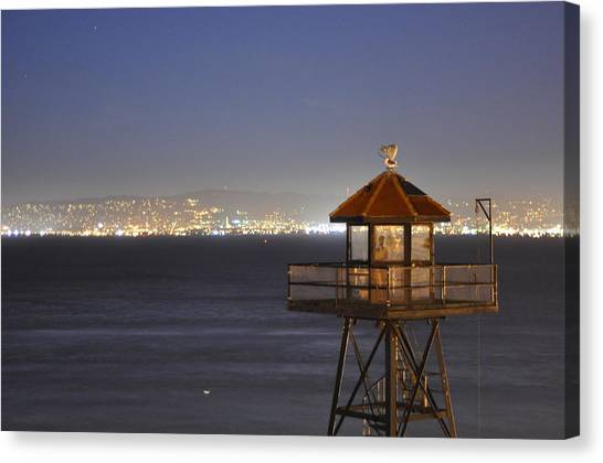 Watch Tower Of The West Canvas Print by Greg McDonald