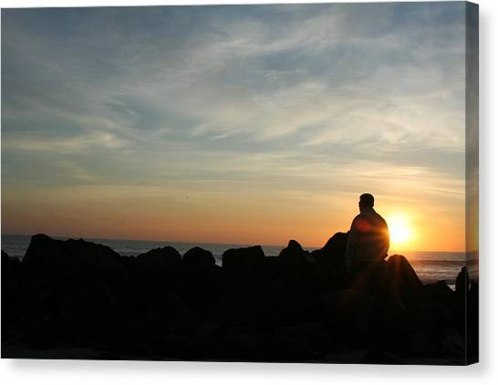Watching Days End Canvas Print by Randy Morehouse