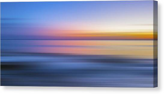 Lavendar Canvas Print - Watching The Last Light X by Jon Glaser