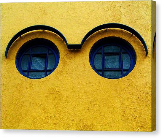 Mauer Canvas Print - Watching You ... by Juergen Weiss