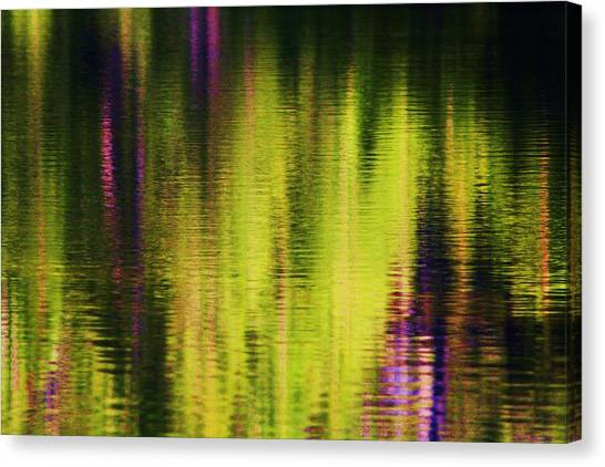 Water Abstract 3 Canvas Print by Russell  Barton