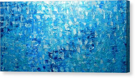 Water And Light 2016 Canvas Print