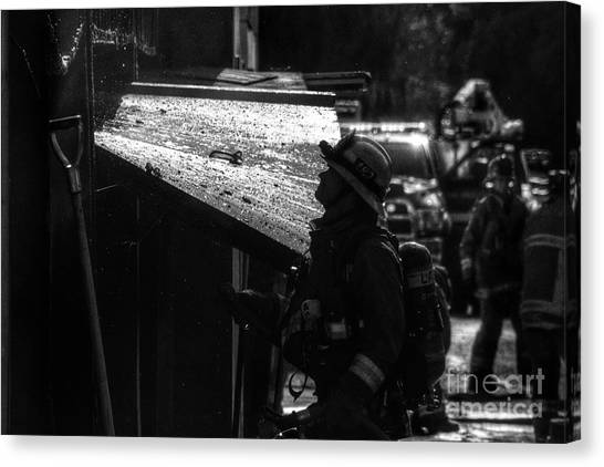 Water And Soot Canvas Print