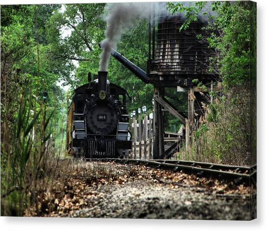 Water And Steam Canvas Print by Scott Hovind