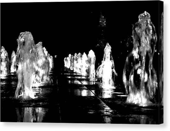 Water Angels Canvas Print by Andrew Dinh