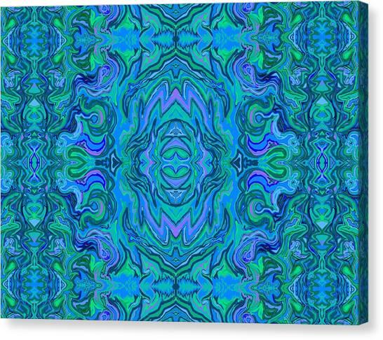 Water Art Pattern  Canvas Print