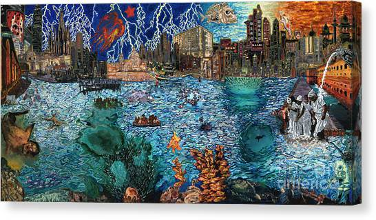 Water City Canvas Print