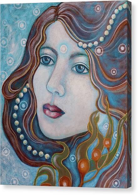 Water Dreamer Canvas Print