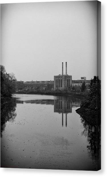 Water Factory Canvas Print