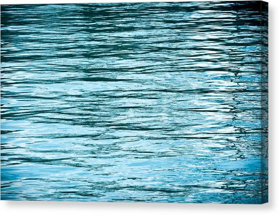 Lake Michigan Canvas Print - Water Flow by Steve Gadomski