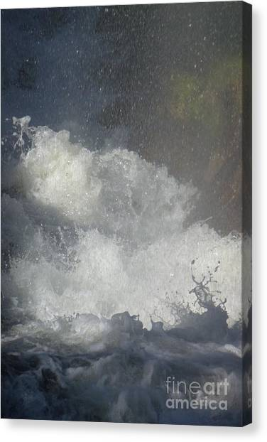 Water Fury 2 Canvas Print