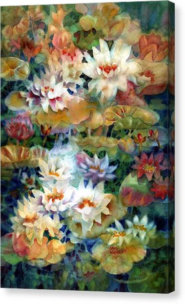 Water Garden II Canvas Print