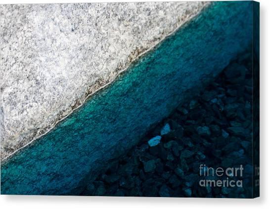 Water II Canvas Print by Marta Grabska-Press