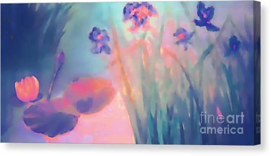Water Iris Canvas Print