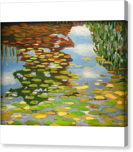 Painters Canvas Print - Water by Karyn Robinson