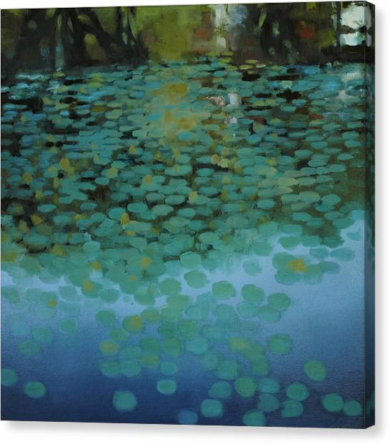 Water Lilies 3 Canvas Print