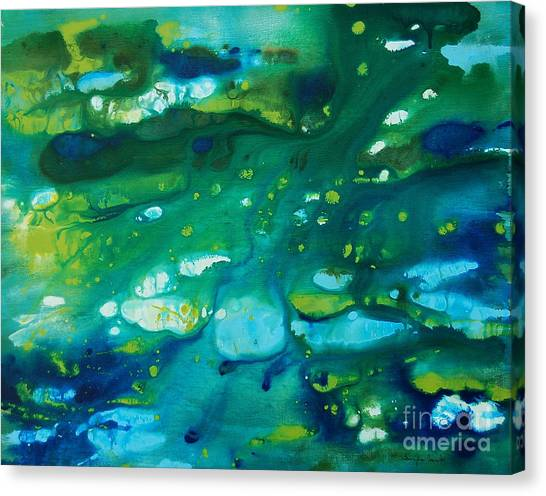 Water Movement Canvas Print
