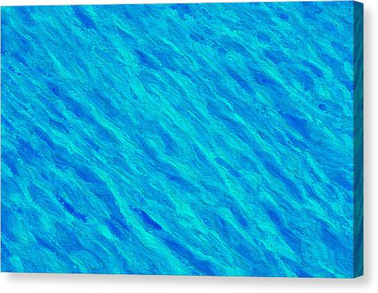 Canvas Print - Water Pattern by Modern Art