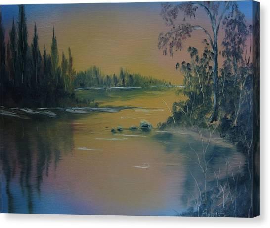 Water Scene 2a Canvas Print