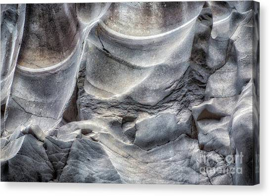 Water Sculpting Rock Art By Kaylyn Franks  Canvas Print