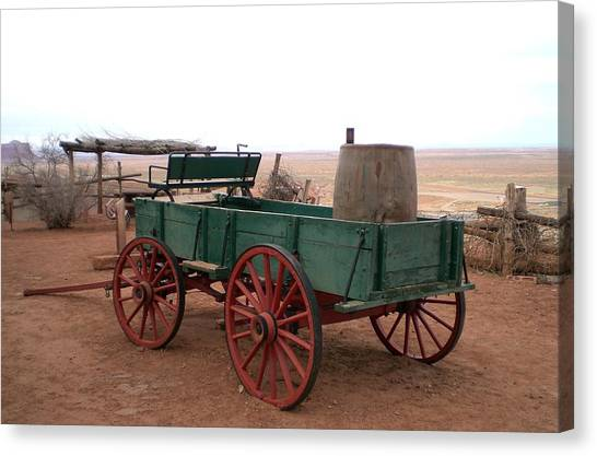 Water Wagon Canvas Print by Fred Wilson