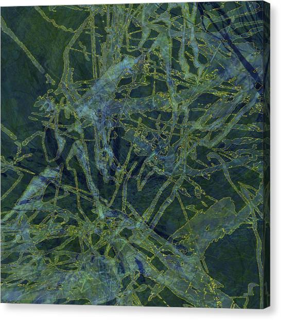Edition 1 Watercolor Moss Canvas Print