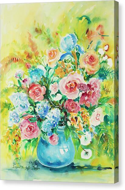 Watercolor Series 120 Canvas Print