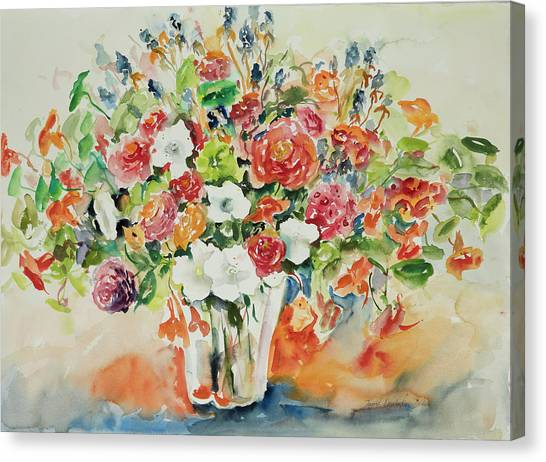 Watercolor Series 23 Canvas Print