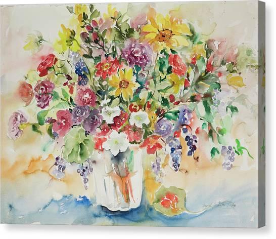 Watercolor Series 33 Canvas Print