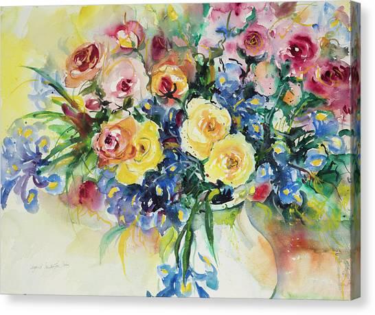 Watercolor Series 62 Canvas Print